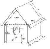 Decorar una casa para pájaros | Aprender manualidades es facilisimo.com   – Bastelideen