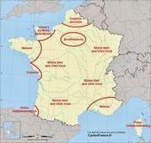Carte de France vue par les Français