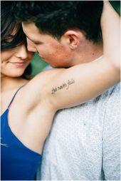 Liebe versagt nie Tätowierung. Details die eine Geschichte erzählen // seattle… – Tattoo Platzierung