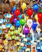 Lamps of many colours  #turkey #turkiye #istanbul #turkeytravel #grandbazaar