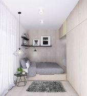 Quarto pequeno: 12 ideias para aproveitar os espaços Small Bedroom Ideas aprove…