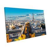 Mercury Row Canvas Print Autumn Paris City Skyline   Wayfair.de