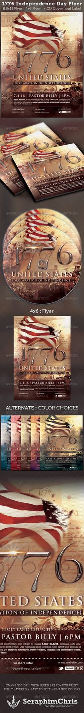 Veterans Day Mailer Invite Template - independence day flyer