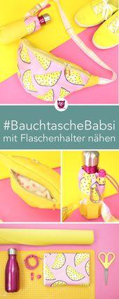 [Eigenwerbung] Bauchtasche nähen: #BauchtascheBab…