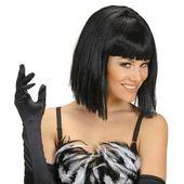 Elodie Pagenkopf Perücke schwarz