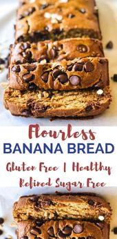 This flourless banana bread is a delicious, gluten-free treat! Not to mention …..