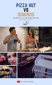 Pizza Hut vs. Dominos – WIR HABEN VIEL PIZZA FÜR DIESES GEKAUFT! Wir probieren verschiedene Cru …