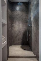 Ideen für Duschböden, die die besten Materialien für die Arbeit zeigen