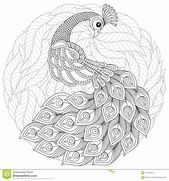 Adult Coloring Page Snake Fresh Peacock In Zentangle Style Adult Antistress Coloring Page Peacock Coloring Pages