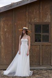 Willowby 53702B Ophelia Strapless Sweetheart Neckline Bridal Dress