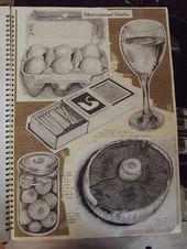 COMBINAISON DE BEE ART EBE   – alevel art sketchbook