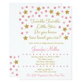 Baby Showers Twinkle Pink & Gold Twinkle Star Baby Shower