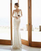 bröllopskläder bodycon #weddingdress Glamourse designer bröllopsklänningar av Julie …