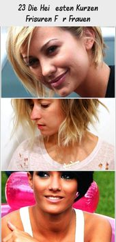 23 The hottest short hairstyles for women