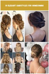 15 Elegant Hairstyles for Homecoming wedding hairstyles for bridesmaids 10 Elegant Hairstyles for Homecoming