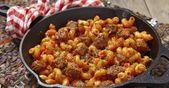 Pâtes aux saucisses italiennes … dans une sauce marinara et à la crème   – recettes