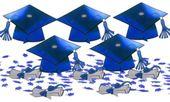 Blue Graduation Table Decorating Kit 11pc - Party City