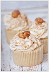 Gebrannte Mandel-Cupcakes