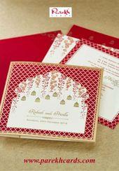 Super wedding card invitation indian beautiful 15 Ideas