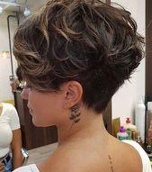 25 Ideen für kurze Pixie-Frisuren für Frauen,  #Frauen #für #hairstylesfemmeshort #Ideen #kur…