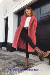 Trendy Winter Fashion Ideas #winterfashion #womenfashionwinter