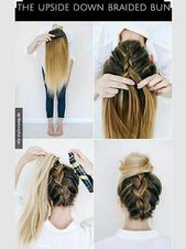 Fast Oktoberfest hairstyles: ready for Oktoberfest in 5 minutes! – braid
