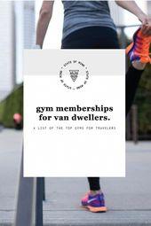 Die besten Fitnessstudio-Mitgliedschaften für Van Dwellers   – Minivan