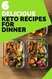 6 köstliche und einfache Keto-Abendessen-Rezepte. Die meisten gewichtsbewussten Menschen sind Intro …   – ketogenic diet explained