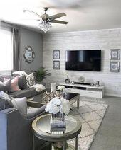 45 neutrale Wohnzimmerideen erdgraue Wohnzimmer zum Nachmachen 1
