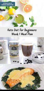 Keto Diet For Beginners Week 1 Meal Plan – Pinokyo