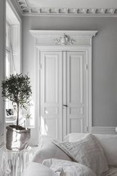 Gorgeous white interior inspiration for your bedroom – #Bedroom #ceilings #gorgeous #Inspiration #Interior