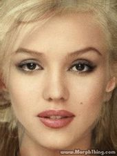 High Rated Celeb Morphs    Jessica Alba and Marilyn Monroe  Possibly I ought to ha…