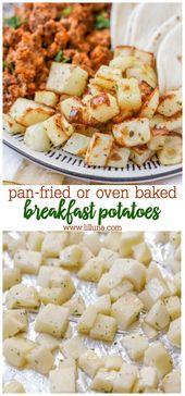 Patatas del desayuno   – Breakfast Recipes