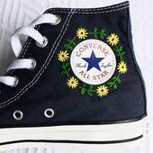 Der perfekte Weg, um Ihre Converse zum Leben zu erwecken 🤩 via. Clinton Bridgett Record …