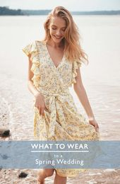What to Wear: 20 Fresh Dresses for a Spring Wedding
