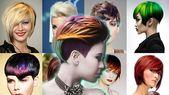 2018 Kurze Haare Ideen & Aktuelle Haarfarben und Designs für Damen  #aktuelle #damen #designs #haare #haarfarben
