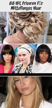 88 Hit Hairstyles For Medium Length Hair