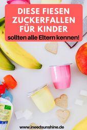 Erkennen Sie Zuckerfallen für Kinder   – ~ Baby, Kind  & Familie ~