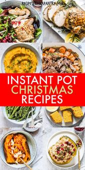 Instant Pot Christmas Recipes