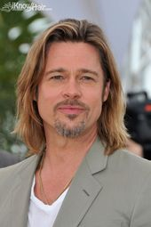 Brad Pitt:There isn't a good picture out there of him with long hair, but I …