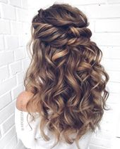 20 Long wedding hairstyles and updos by mpobedinskaya