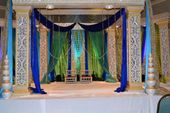 Indian Wedding Stage Color Combos