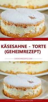 Crema de queso – pastel (receta secreta)   – Kuchen
