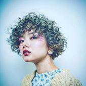 Die besten Ideen für kurzes lockiges Haar im Jahr 2019 | wie man kurze haare stylt bob updo locken #curly #ideas #short