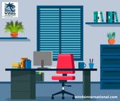 Illustrator Workspace Office Design