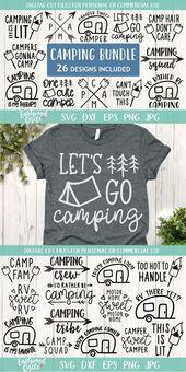 Camping svg Bundle, Camping svg, Camp svg, Camping svg Files, Camper svg, Camp svg Bundle, Camping Bundle svg, Camping Shirt svg, dxf, png