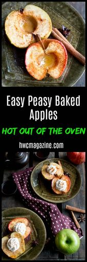 Easy Peasy Baked Apples