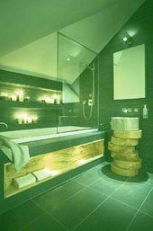26 wunderbare Badezimmerkonzepte – www.dailyweddingi … #erstaunliches Wohnkultur …