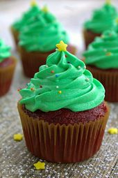 25 cupcakes navideños para las vacaciones más dulces   – It's beginning to look a lot like Christmas …