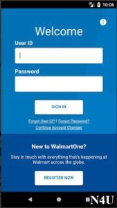 Walmartone Login From App In 2020 Walmart Scheduling App App